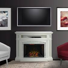 drew infrared electric fireplace tv stand in white cs 33wm1100 wht for attractive household electric fireplaces tv stands plan