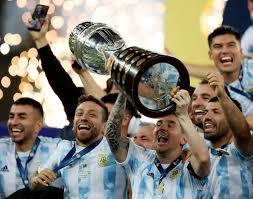 Argentina beat Brazil 1-0 to win Copa ...