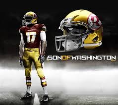 Of Redskins The Update Uniform Contest Design Washington Son Re