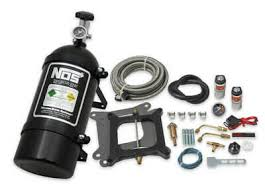 Daves Deal New Hbr Blackout Holley 4150 Cheater Nitrous