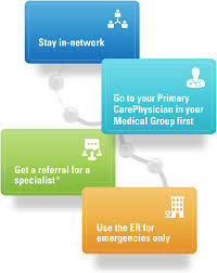 see a primary care provider for specialist referrals use the