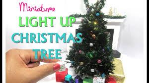 diy realistic light up tree moss dollhouse miniature