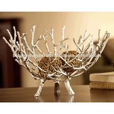 Large Silver Decorative Bowl Decorative Fruit Bowl Decor Lakaysports Decorative Fruit 12