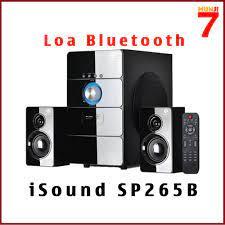 Loa Bluetooth - Vi Tính iSound SP265B 2.1