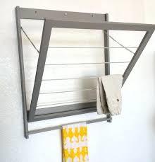 wall mounted clothes rod image of stylish closet rod bracket wall