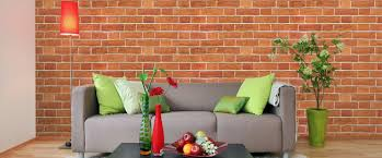 Small Picture Add Industrial Design to your Interior with Brick Effect Wallpaper