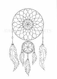 Dream Catchers Coloring Pages Fun Time