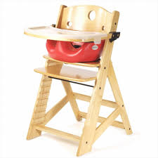 com keekaroo height right high chair infant insert and tray combo natural cherry childrens highchairs baby