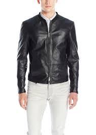 a x armani exchange men s classic leather jacket