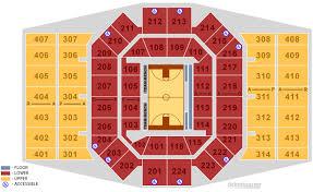 flyers arena seating chart university of dayton arena dayton tickets schedule seating