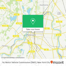 nj motor vehicle mission dmv paterson nj new york city