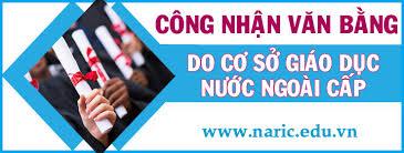 Hướng dẫn quy trình CNVB do cơ sở giáo dục nước ngoài cấp | Trung tâm công  nhận văn bằng
