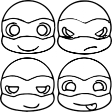 Small Picture Ninja Turtle Coloring Pages Ppinewsco