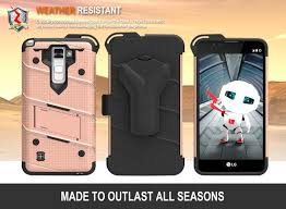 lg stylo 2 cases. lg stylo 2 ls775 - bolt case cover kickstand holster tempered glass \u0026 lanyard rose gold :: cellphonecases.com lg cases e