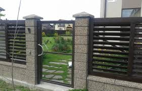 modern metal fence design. Amazing Ideas Gate Designs For Home Model Plans Homes Metal Images With Outstanding Gallery And Fence Design Modern A