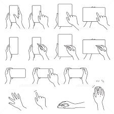 マウスを操作する右手 イラスト素材 2477790 フォトライブラリー