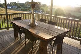 rustic wood patio furniture. Rustic Wood Outdoor Table Designs Patio Furniture F