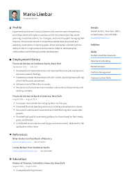 optimal resumes financial advisor resume templates 2019 free download