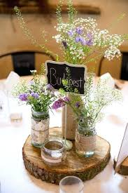 rustic centerpiece for wedding table centerpieces round tables