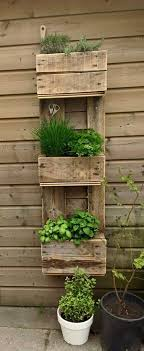 garden pallet furniture. Home Decor Ideas With Wood Pallet -- Create A Wall-Hung Herb Garden To Keep Fresh Herbs Close By. Furniture