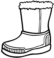 Small Picture Winter Boots Large Coloring Page Dressing for Winter Pinterest