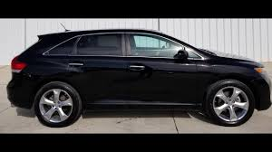 2011 Toyota Venza V6 AWD Black T809610 - YouTube