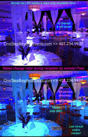 Lighted Cocktail Tables For Rent Special Event Rentals Wholesale Le Cocktail Tables