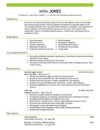 reasons this is an excellent resume for someone with no     Perfect Resume Example Resume And Cover Letter functional