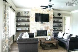 fireplace with bookshelves on each side fireplace bookshelf ideas floating shelves for my living room shanty