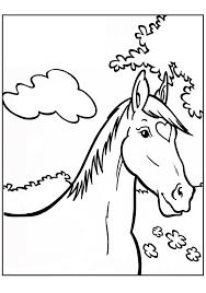 Kleurplaat Paard In Stal Archidev Idee Kleurplaten Paarden Manege