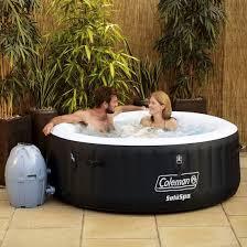 Coleman SaluSpa 4 Person Portable Inflatable Outdoor Spa Hot Tub, Black -  Walmart.com