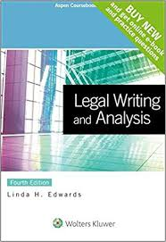 writing analysis legal writing and analysis connected casebook aspen coursebook