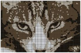 Cat Knitting Chart Turning Any Image Into A Knit Chart Stuff Jenn Likes
