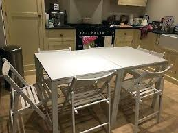 ikea melltorp table 2 x dining tables and 6 x folding dining chairs ikea kitchen table white round ikea dining table malaysia