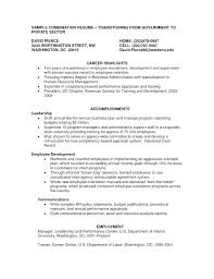 Combination Resume Templates Classy Hybrid Resume Example Combination Sample Resumes Templates Co