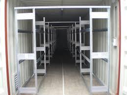 6 x 20 container (offen) + treppe & podest mit geländer und dach. Domby Container Handel Zubehor