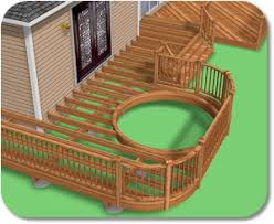 Small Picture Create Your Own Deck with Free Deck Design Software Homes and