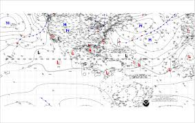 Surface Analysis Chart Noaa Nhc Marine Product Descriptions
