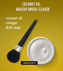 3coconut oil makeup brush cleanser coconut oil makeup remover
