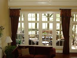 Superb Window Treatment Ideas For Magnificent Window Curtain Ideas Large Windows