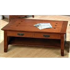 oak mission coffee table oak walnut mission craftsman coffee table view images solid wood mission style