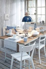 dining room coastal dining rooms cool round table with beach style