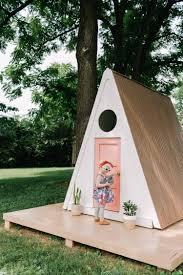 a frame playhouse diy