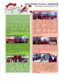 newsletters mes hocl school newsletter 2013 14