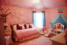 tree wall painting teen girl room. Color Ideas For Teenage Girl Room White Rug Ont The Wooden Flooring Pink Blue Wall Paints Tree Painting Teen S