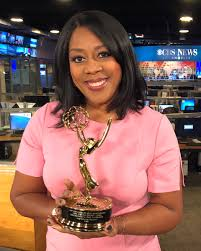 """Amy Johnson on Twitter: """"Years in the making but I finally got my hands on  this golden beauty #Emmy! Thanks @CBSLA & producer @NewsCourtney & a  special thanks to @tarawallis for believing"""