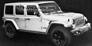 2018 jeep unlimited rubicon. unique rubicon new 2018 jeep wrangler jljlu official leaked images throughout jeep unlimited rubicon r