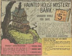 perhaps entrusting hard earned loose change to spooky ghouls is more your thing apparently there were variant versions of the haunted house check haunted house
