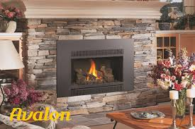 gas fireplace inserts avalon