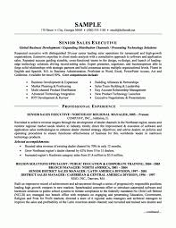 Executive Resume Templates Cool Sales Executive Resume Samples Resume Senior Sales Executive Best